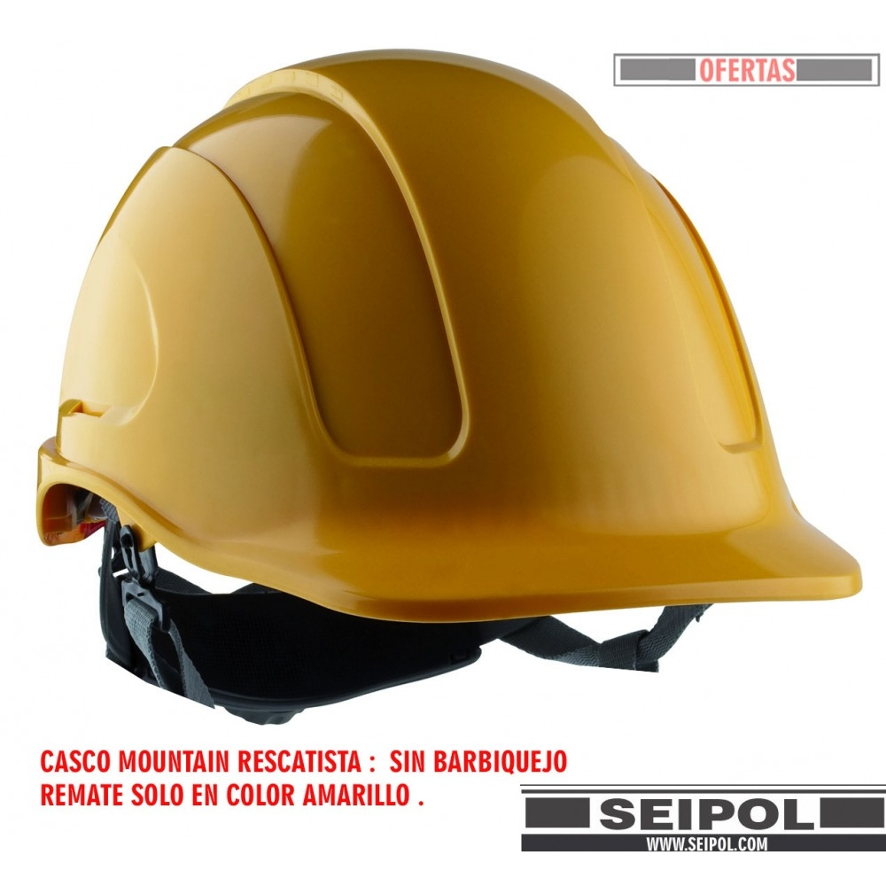CASCO RESCATISTA MOUNTAIN AMARILLO